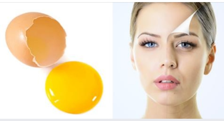 ANTI-AGING FACE MASK WITH EGG WHITES