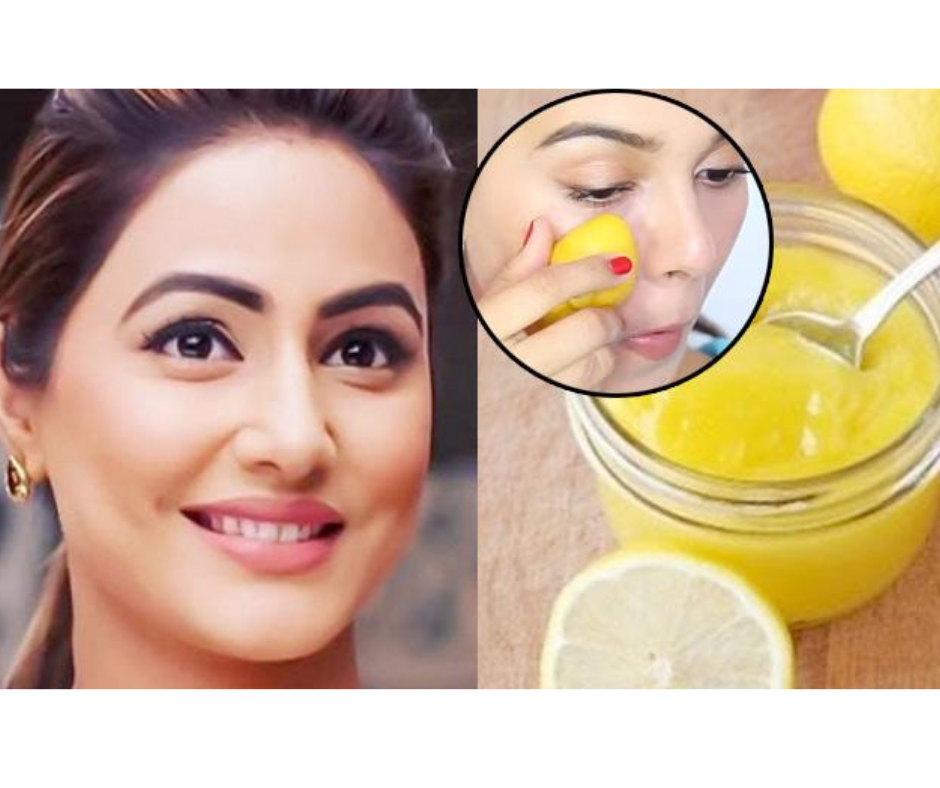 DIY LEMON FACE MASK FOR A CLEAR, AND GLOWING SKIN