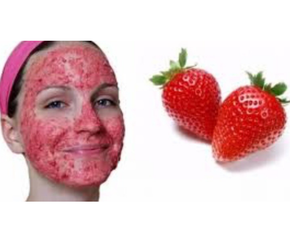 STRAWBERRY FACE MASK FOR BRIGHT SKIN