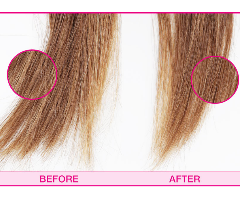 HOW TO GET RID OF SPLIT ENDS AT HOME?