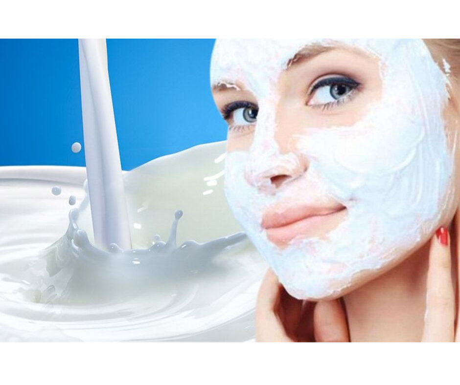 RAW MILK FACIAL FOR INSTANT BRIGHTNESS OF THE SKIN